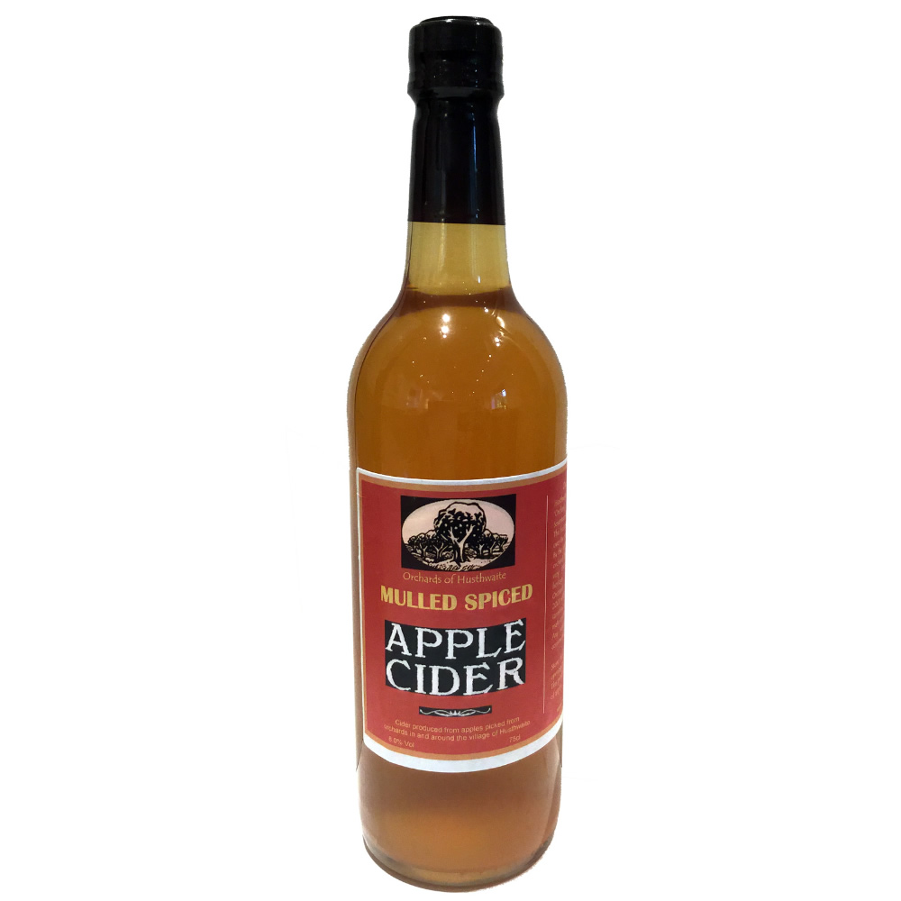 Galtres Mulled Spiced Cider 4% abv - Orchards of Husthwaite